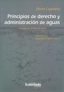 Principios de derecho y administración de aguas
