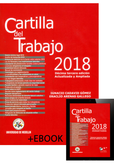 Cartilla del trabajo 2018 + Libro Electrónico