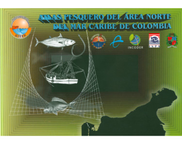 Atlas pesquero del área norte de Mar Caribe de Colombia