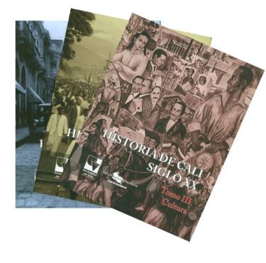 Historia de Cali siglo XX. III Tomos