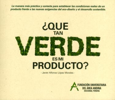 ¿Qué tan verde es mi producto?
