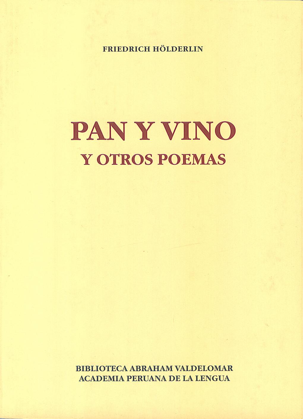 Pan y vino y otros poemas
