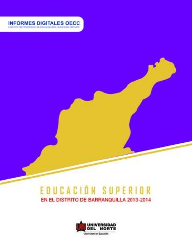 Educación superior en el Distrito de Barranquilla 2013-2014