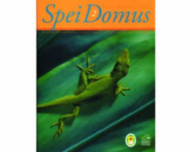 Spei Domus. Revista de investigaciones en ciencias animales. Vol. 1 No. 2