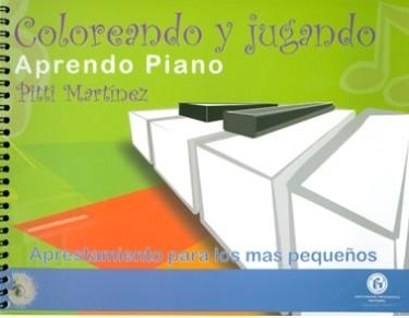 Coloreando y jugando aprendo piano. Aprestamiento para los más pequeños