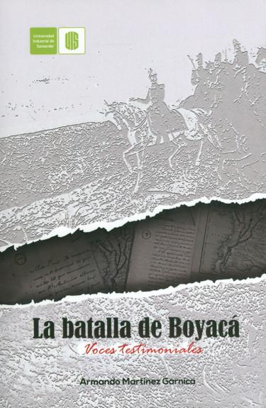 La batalla de Boyacá