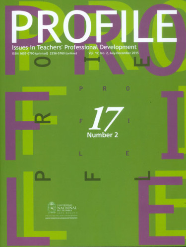 Profile. Issues in teachers professional development. Vol. 17 No. 2