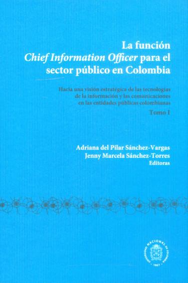 La función chief information officer para el sector público en Colombia
