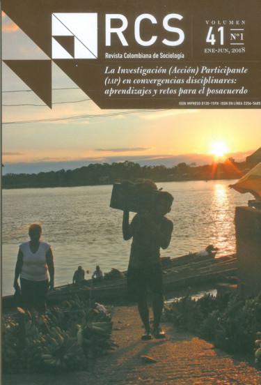 Revista colombiana de sociología Vol. 41 No. 1 Ene - Jun 2018