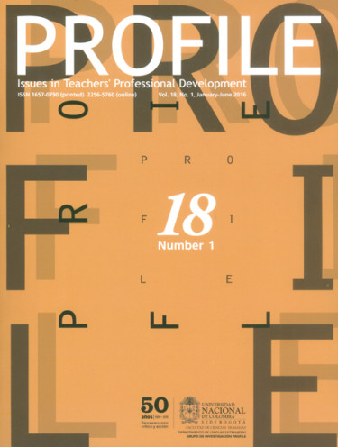 Profile. Issues in teachers professional development. Vol. 18 No. 1