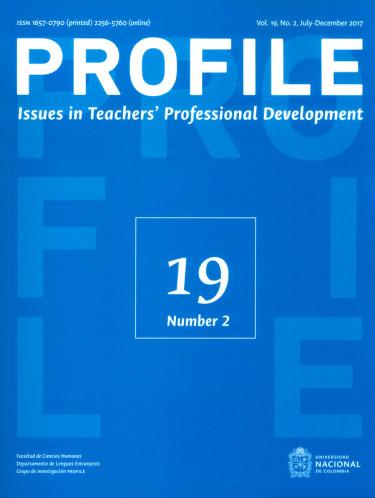 Profile. Issues in teachers` professional development Vol.19 No.2
