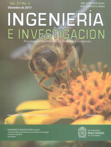 Ingeniería e investigación. Tecnología e innovación con tradición y excelencia Vol.37. No 3