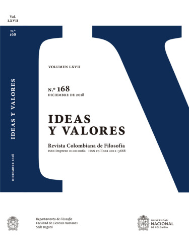 Revista ideas y valores N° 168