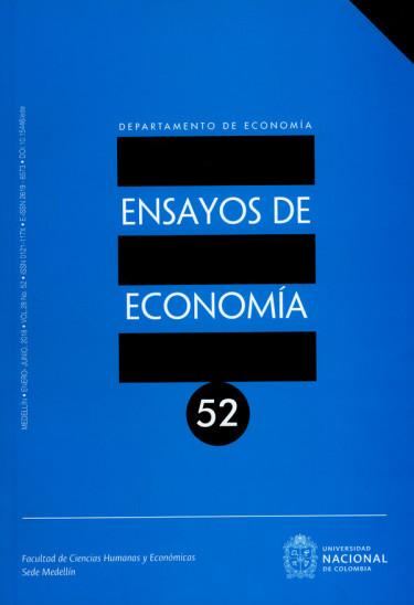 Revista Ensayos de economía Vol.28 N°.52