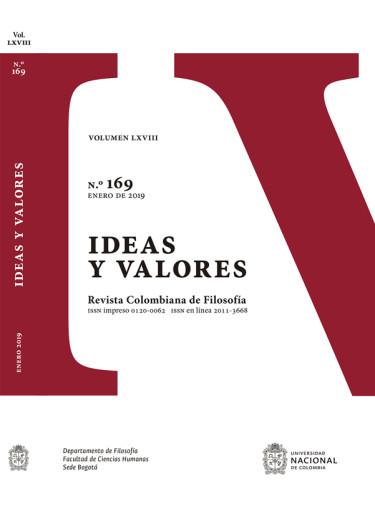Revista ideas y valores N° 169