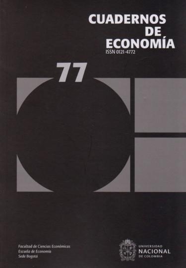 CUADERNOS DE ECONOMÍA N° 77