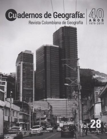 Cuadernos de Geografía Vol. 28 No.2