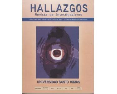 Hallazgos No. 7 - Revista de Investigaciones