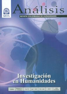 Análisis. Revista colombiana de humanidades No. 76. Investigación en Humanidades