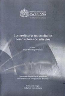 Los profesores universitarios como autores de artículos