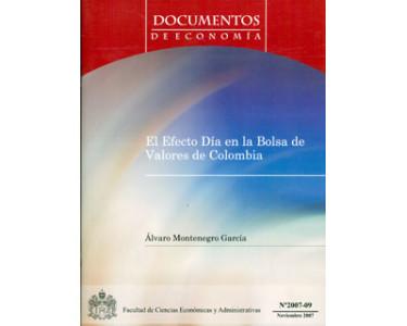 El efecto Día en la Bolsa de Valores de Colombia