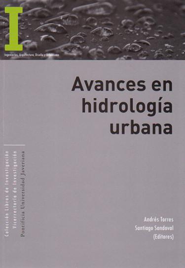 Avances en hidrología urbana