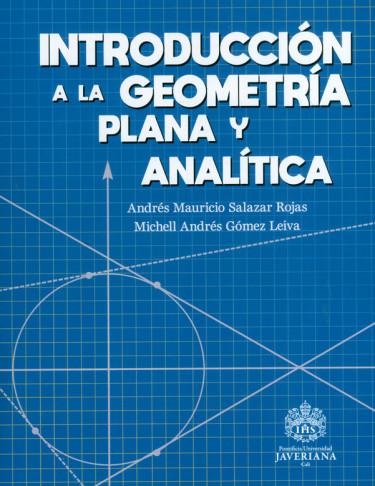 Introducción a la geometría plana y analítica