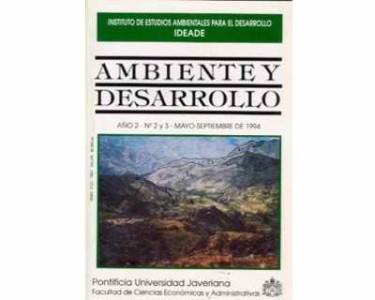 Ambiente y Desarrollo (Año 2, Nos. 2 y 3)