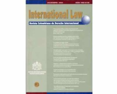 International Law - Revista colombiana de derecho internacional No. 02