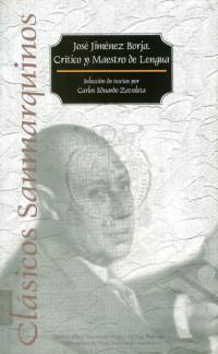 José Jiménez Borja. Crítico y maestro de Lengua