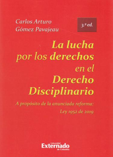 La lucha por los derechos en el derecho disciplinario