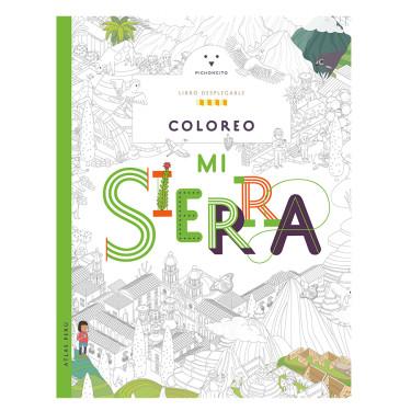 Atlas del Perú: Colorea la sierra