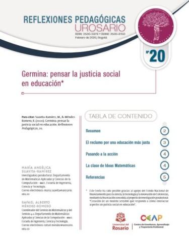 Reflexiones Pedagógicas N°20
