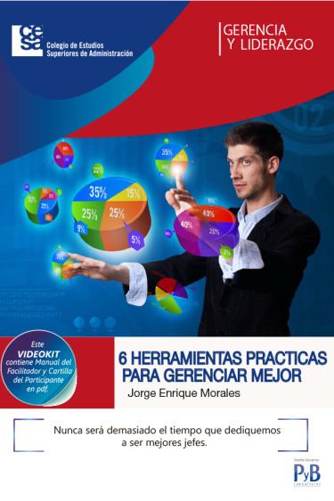 Portada de la publicación 6 herramientas practicas para gerenciar mejor
