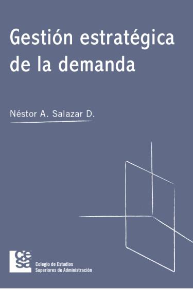 Portada de la publicación Gestión estratégica de la demanda
