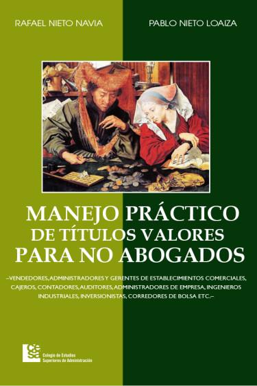Portada de la publicación Manejo práctico de títulos valores para no abogados