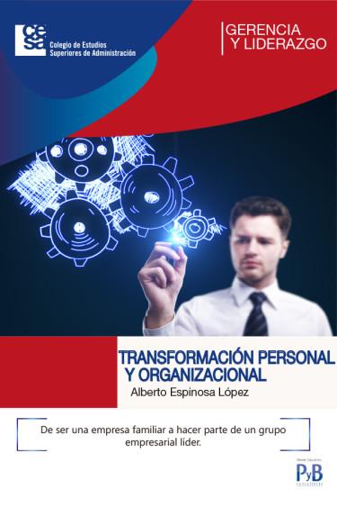 Portada de la publicación Transformación personal y organizacional