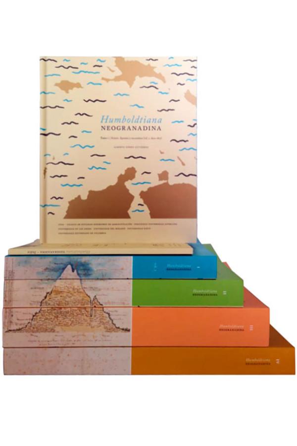 Humboldtiana neogranadina. 5 Volumenes. 4 Tomos   Un cuadernillo