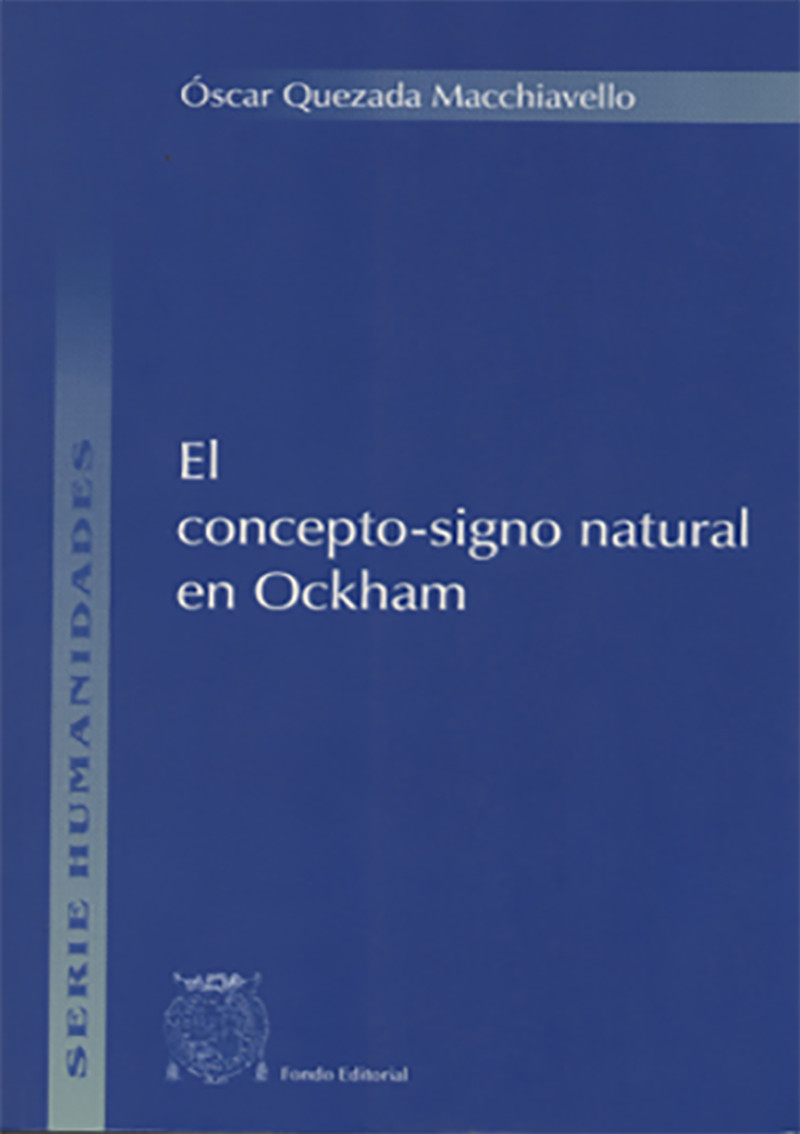 EL CONCEPTO-SIGNO NATURAL EN OCKHAM