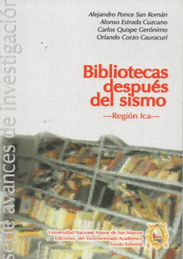 BIBLIOTECAS DESPUÉS DEL SISMO
