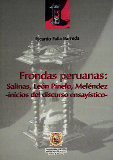 FRONDAS PERUANAS: SALINAS, LEÓN PINEDO, MELÉNDEZ