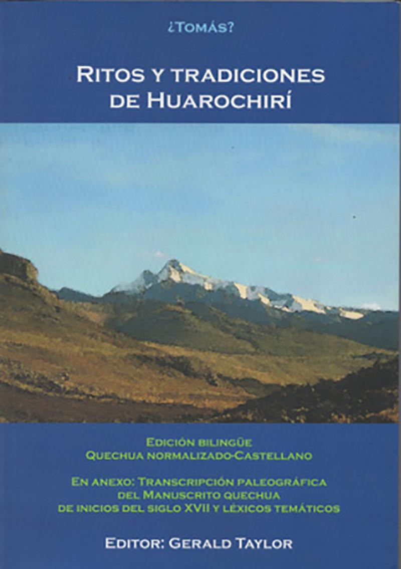 Ritos y tradiciones de Huarochirí