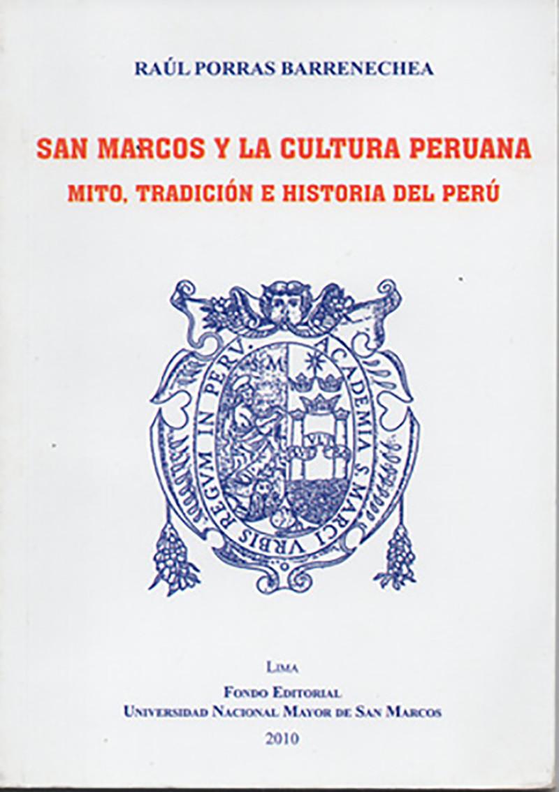 San Marcos y la cultura peruana.