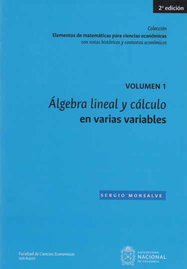 Álgebra Lineal Y Cálculo En Varias Variables