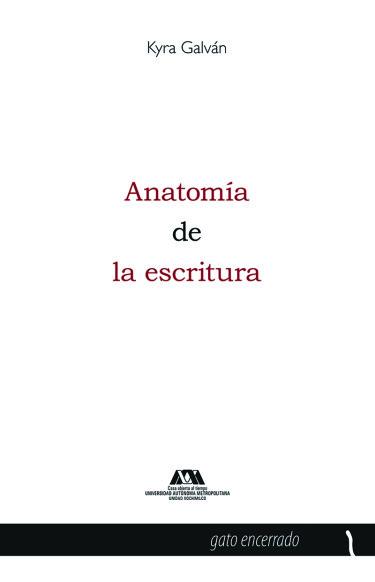 Anatomía de la escritura
