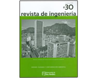 Revista de Ingeniería No. 30. Memoria: El método del camino crítico en la ingeniería colombiana