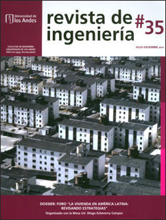 Revista de Ingeniería No. 35. Dossier: foro