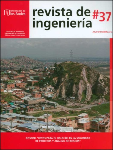 Revista de ingeniería No. 37. Dossier: