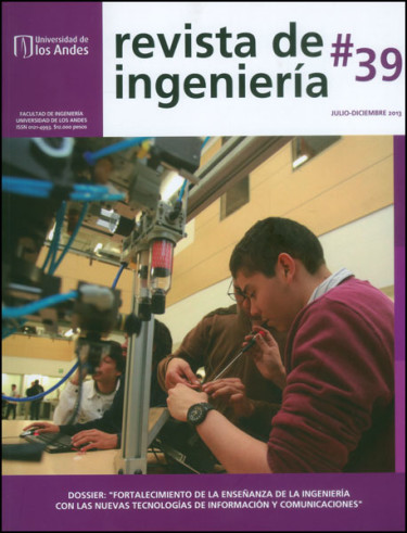 Revista de ingeniería No. 39 Dossier: