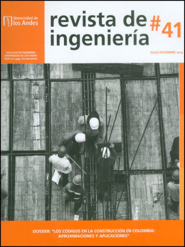 Revista de Ingeniería No. 41: Dossier: